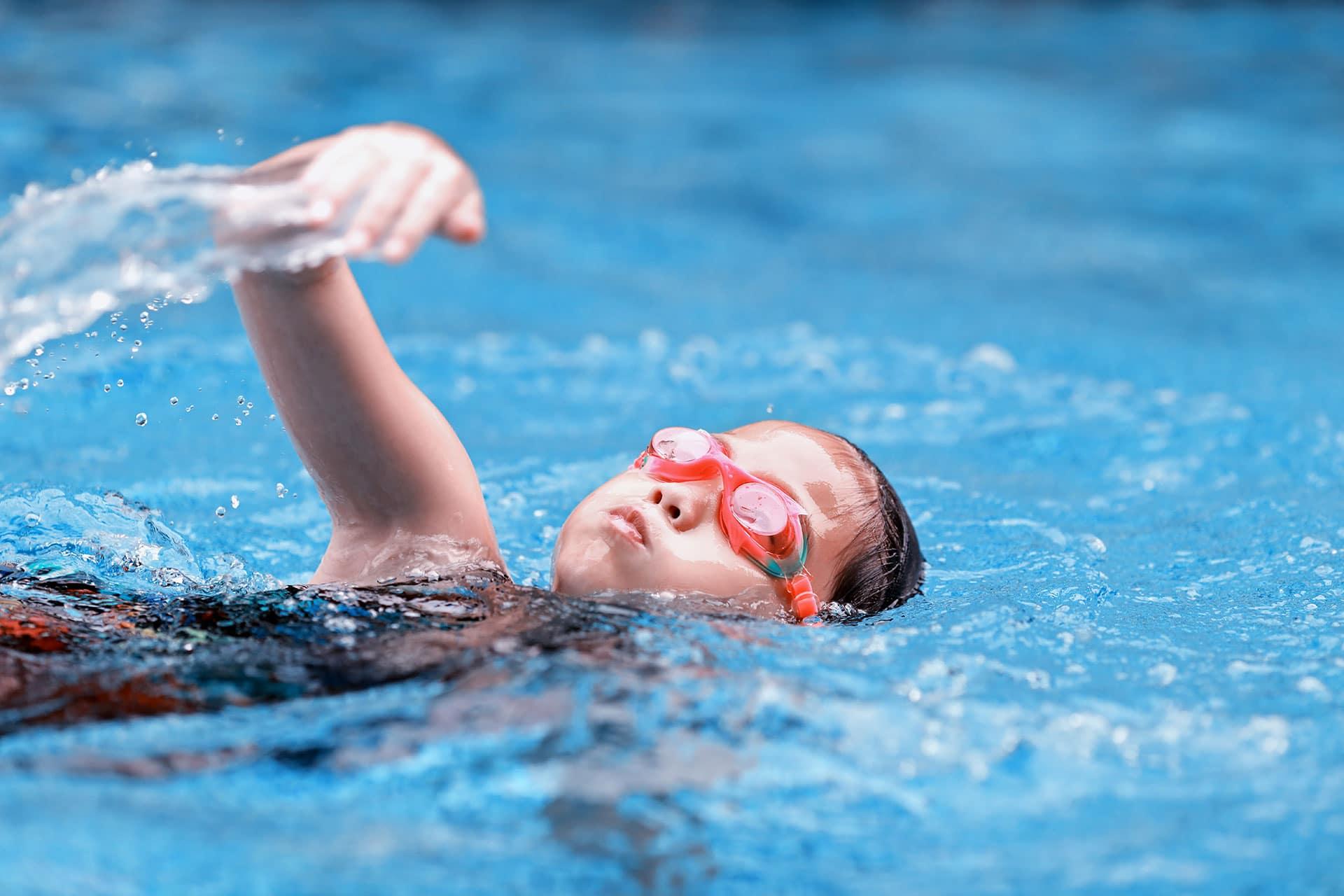 Ecole de natation pour enfants à Seyssinet