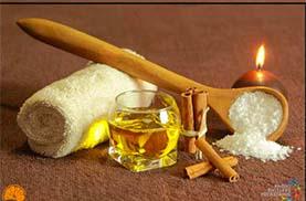 Soins du corps : gommage ou enveloppement du corps + massage réalisé dans notre spa à Grenoble
